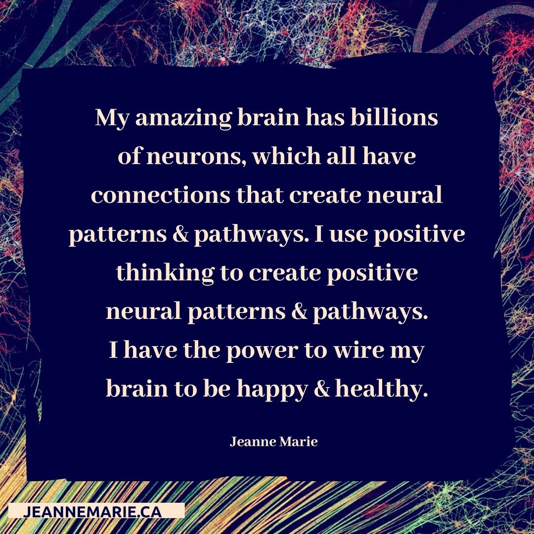 My amazing brain has billions of neurons