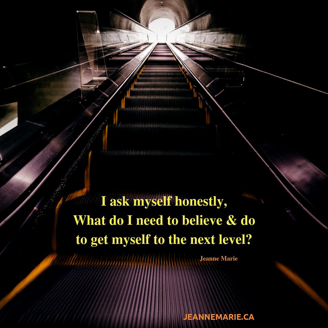 I ask myself honestly